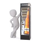 beer, refrigerator, drink