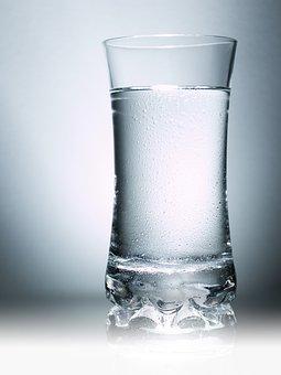Glass, Water, Drip, Mirroring, Gertränk