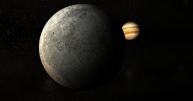 Moon, Planet, Universe, Jupiter
