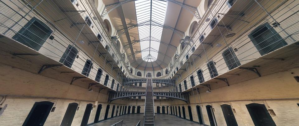 Jail, Dublin, Hall, Old, History, Prison, Kilmainham