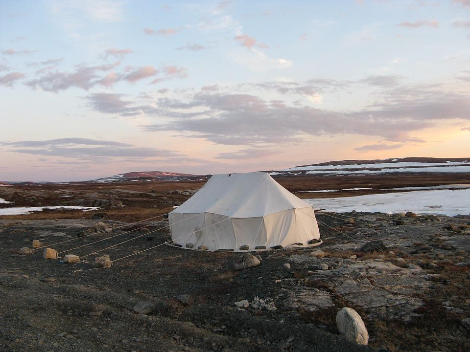 Tent Inuit Canvas Traditional Summer Nunavik & Free photo: Tent Inuit Canvas Traditional - Free Image on ...