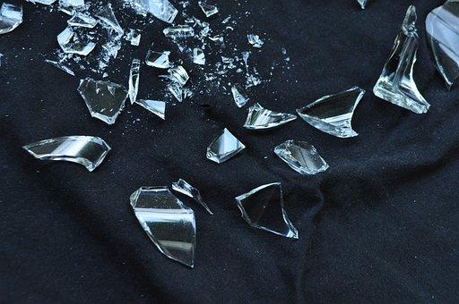 Glass, Broken, Crack, Fracture, Break