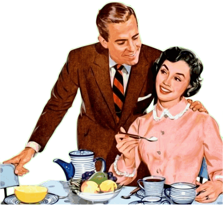 Casal, Rakkaus, Romanttinen, Onnellinen Pari, Vintage