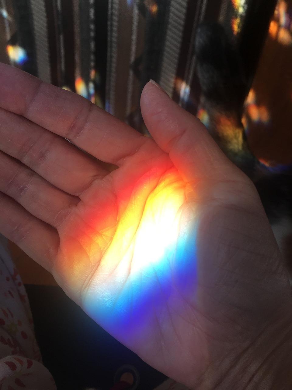 правило после радуга на руке фото приложение подборка удивительных