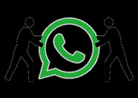 Whatsapp, Figure, Silhouette, Slide