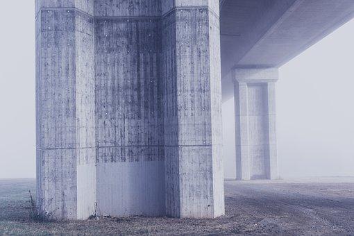 Ponte, Concreto, Pilar, Arquitetura