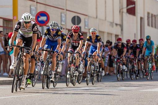 Retour, Cycliste, Espagne, La Tour