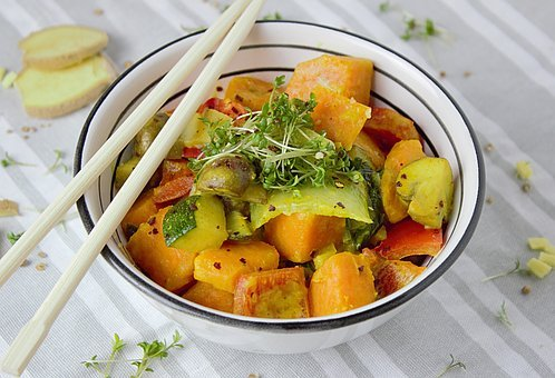 Curry, Vegetables, Vegetarian, Cook