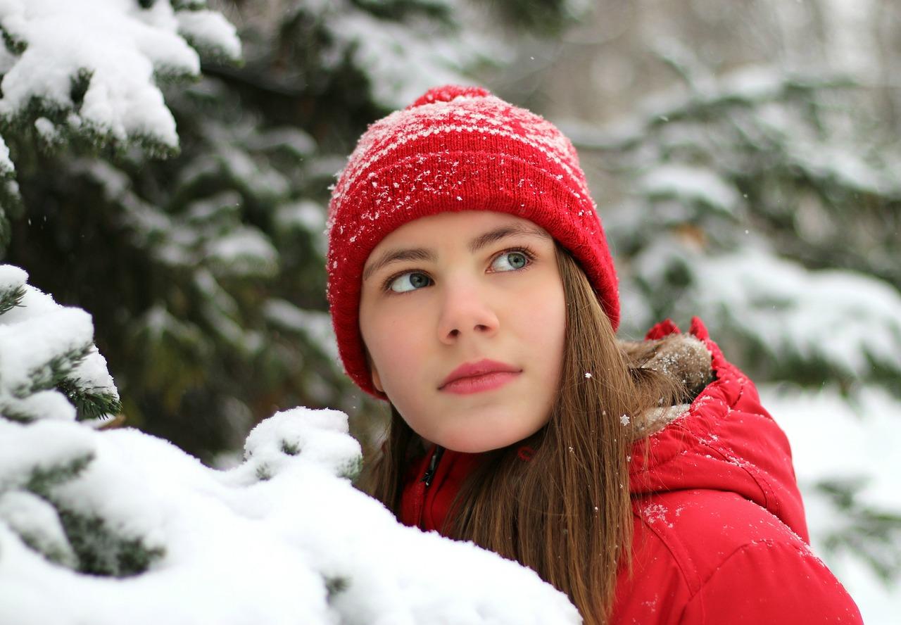 Девушки и зима фото