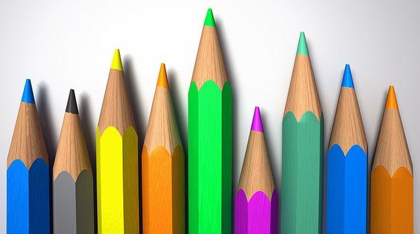 Pencils, Colors, Colored Pencil, Draw