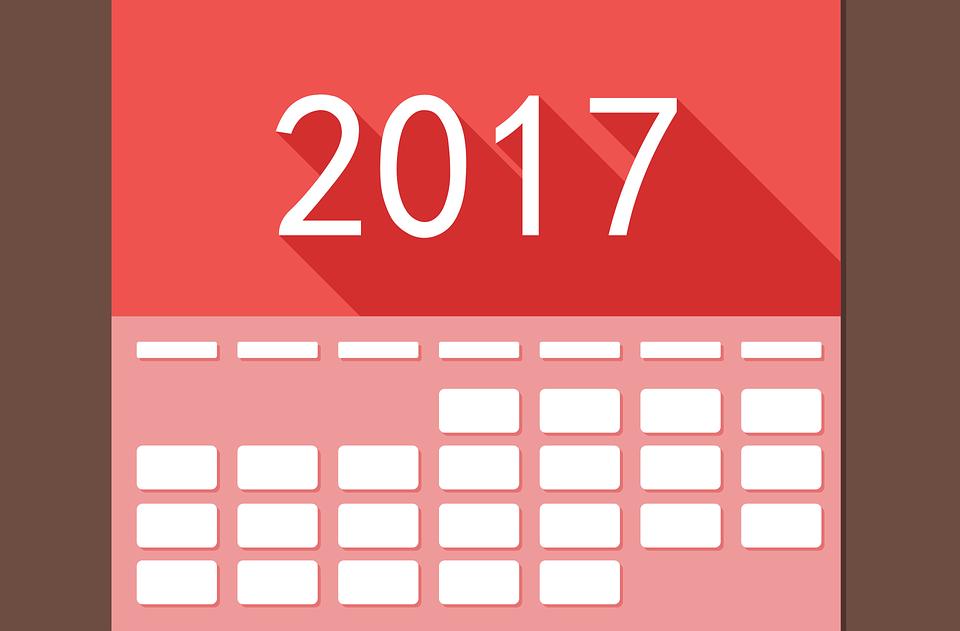 Kalender, 2017, Datum, Tid, Händelse, Planen