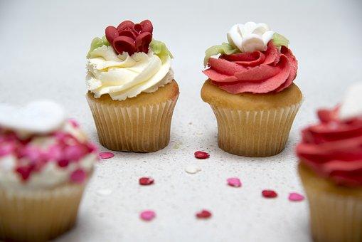 Food, Cupcake, Sweet, Colourful, Cake