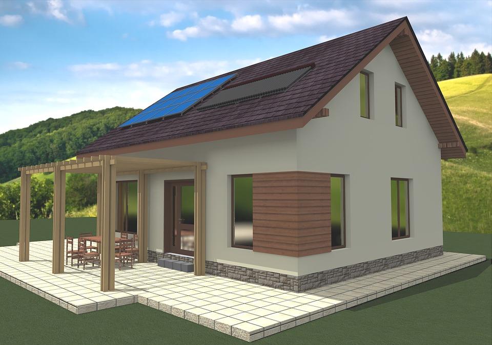 dom pasywny czy energooszczędny? Zdjęcie domu pasywnego