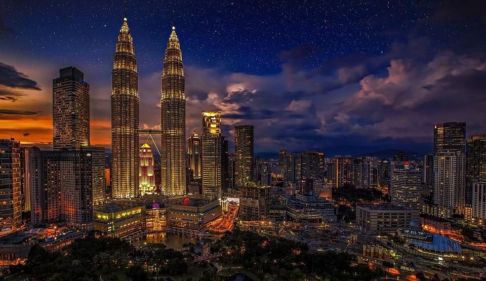 Kuala Lumpur, Bliźnięta, Malezja, Petronas Twin Towers