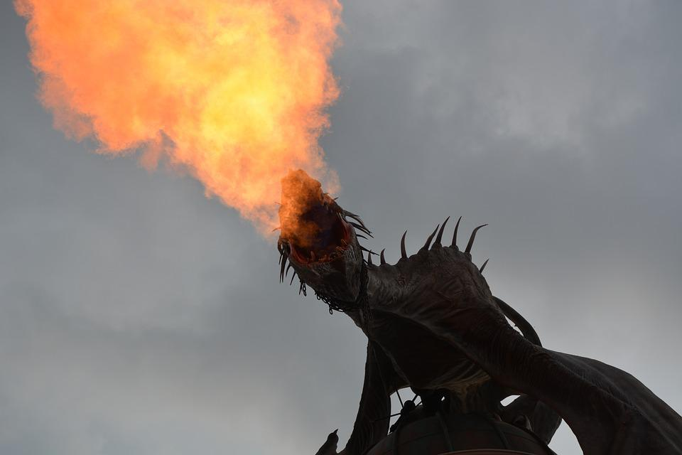 Dragon potter harry le feu photo gratuite sur pixabay - Dragon images gratuites ...