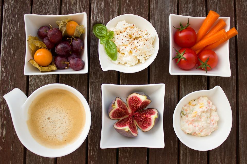 Prima Colazione, Verdure, Caffè, Fico, Frutta