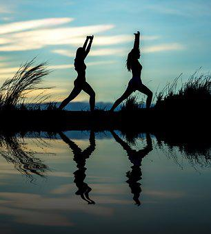 Yoga, Fluent, Adult, Aerobics, Asia