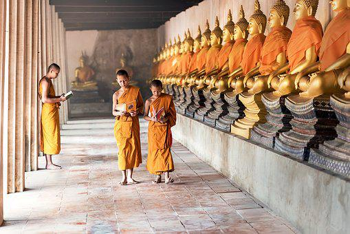 Buddhism, Asia, Boys, Cambodia, Children