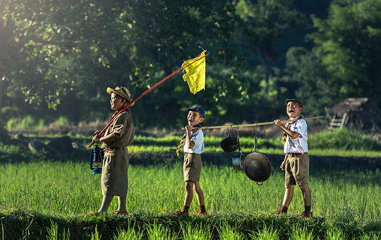 Boys Scout Scouting Asia Same Thailand Swe