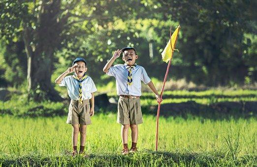Boy Scout Scouting Asia Same Thailand Swea
