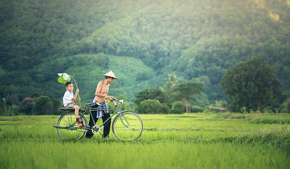 Bicycle, Cambodia, Outside, Myanmar