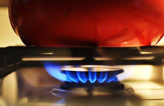 Gas, Stove, Heat, Kitchen, Burner, Flame