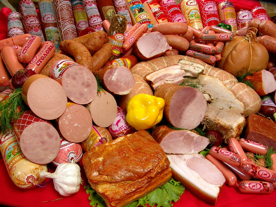 Kostenloses Foto Essen Wurst Kostenloses Bild Auf