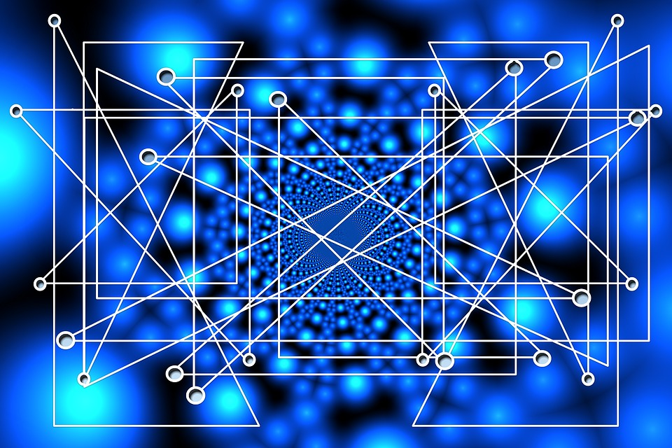Netwerk, Web, Verbinding, Structuur, Knoop, Textuur