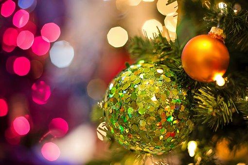 Christmas-Glühbirne, Schmuck