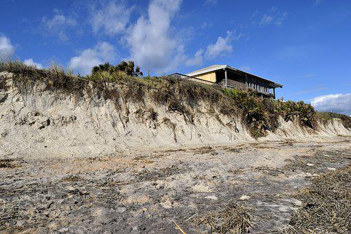 Beach Erosion, Hurricane Matthew, Damage