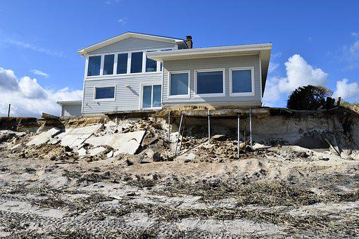 Beach Erosion Hurricane Matthew Damage Des