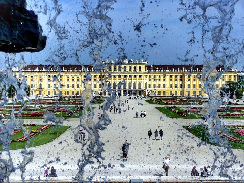 free photo sch246nbrunn palace vienna austria free
