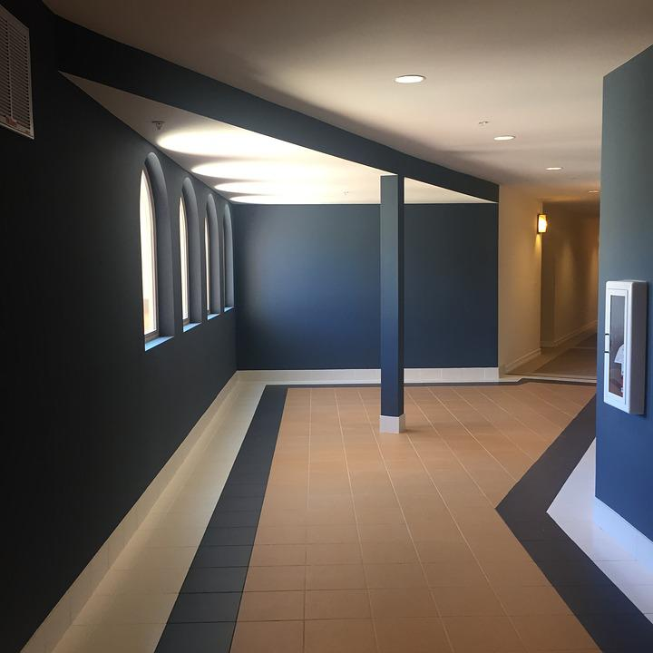 Hallway, Indoors, Angles