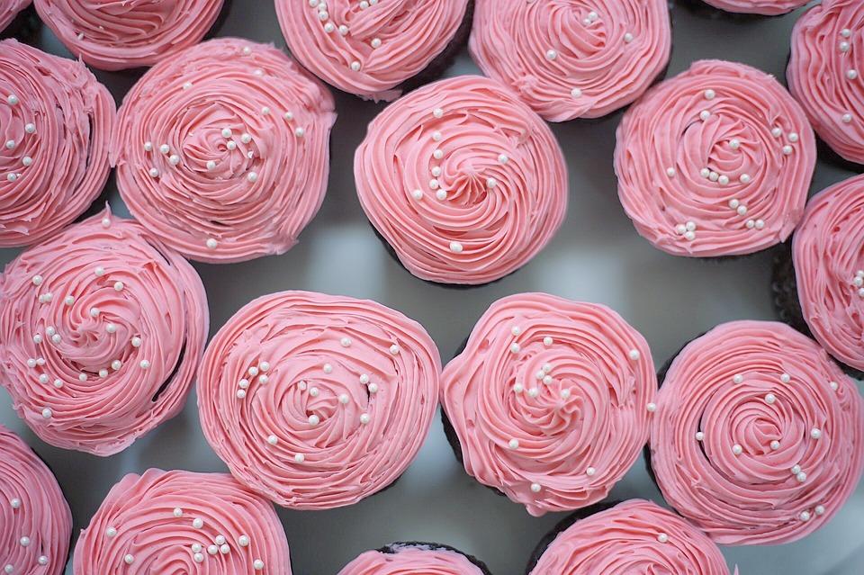 Cupcakes, Célébration, Pâtisserie, Dessert, Sweet