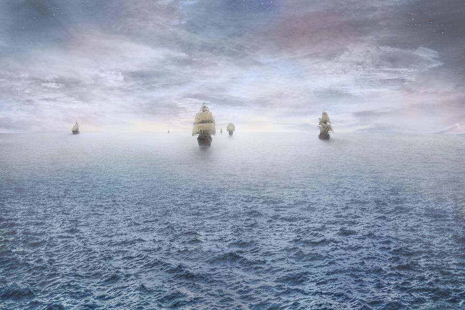 pirate ship ocean  u00b7 free photo on pixabay
