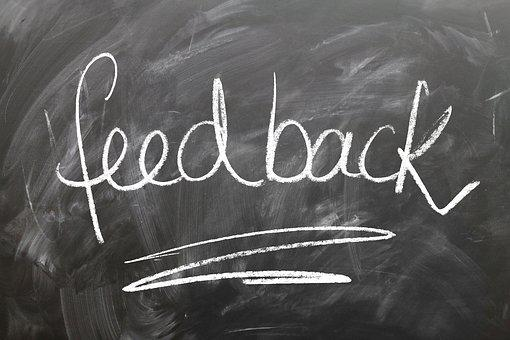 Feedback, Confirming, Board, Blackboard, bakingbusinessschool