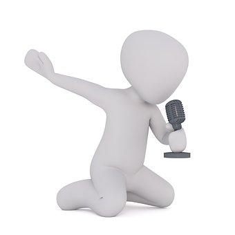 Sänger, Sängerin, Aufmischen, Auwühlen