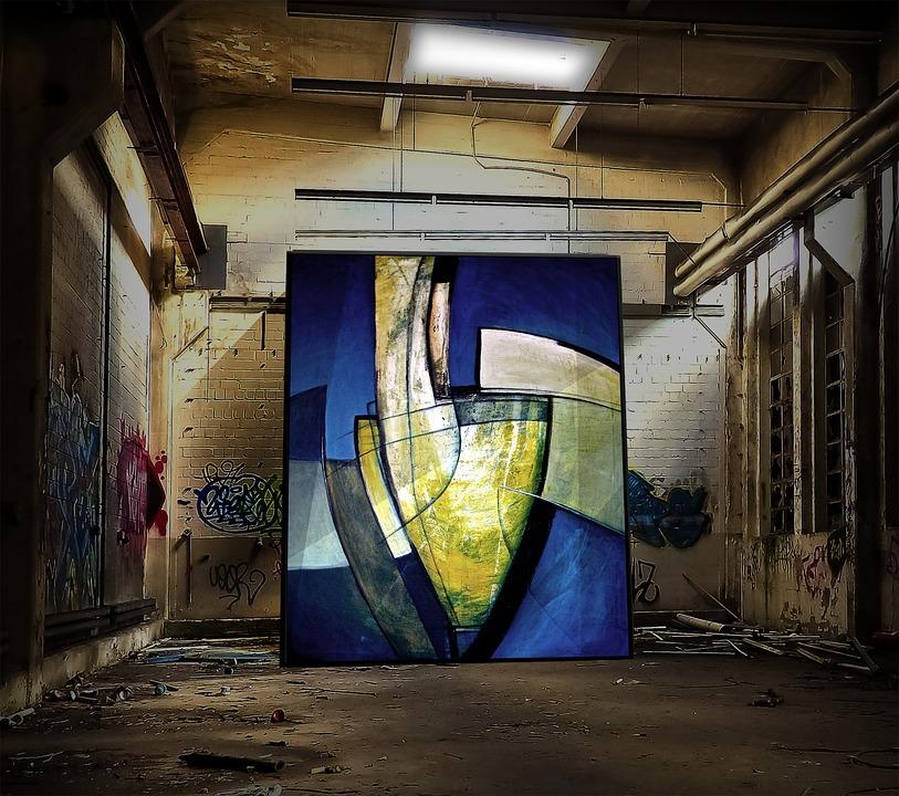 Pictura, Fabrica De Constructii, Ruina, Pierdut Locul