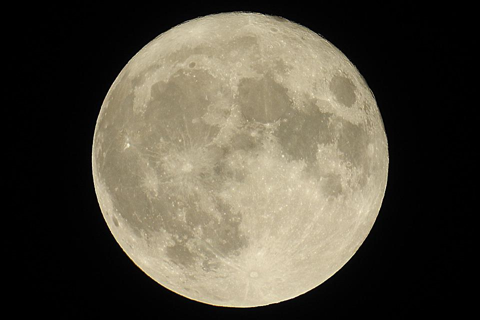Free Photo Super Full Moon 2016 Moon Ache Free Image