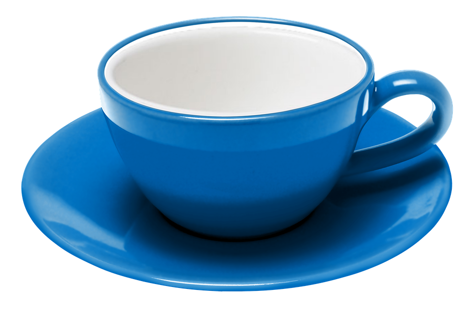 Teacup, Saucer, Coffee, The Dish, Cafe