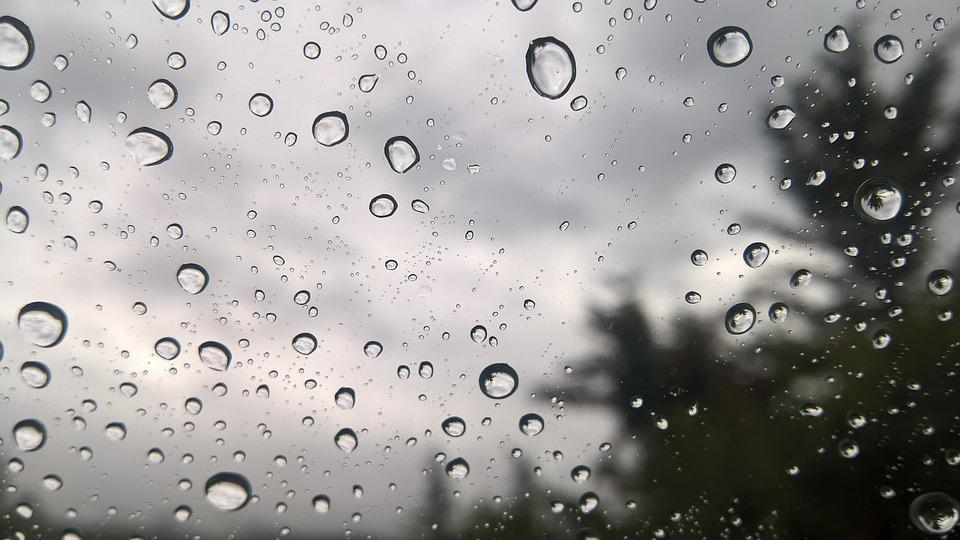 Rain Drops On Window 183 Free Photo On Pixabay