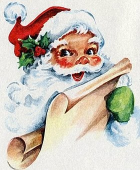 Noel, Santa Claus, Christmas, Parties