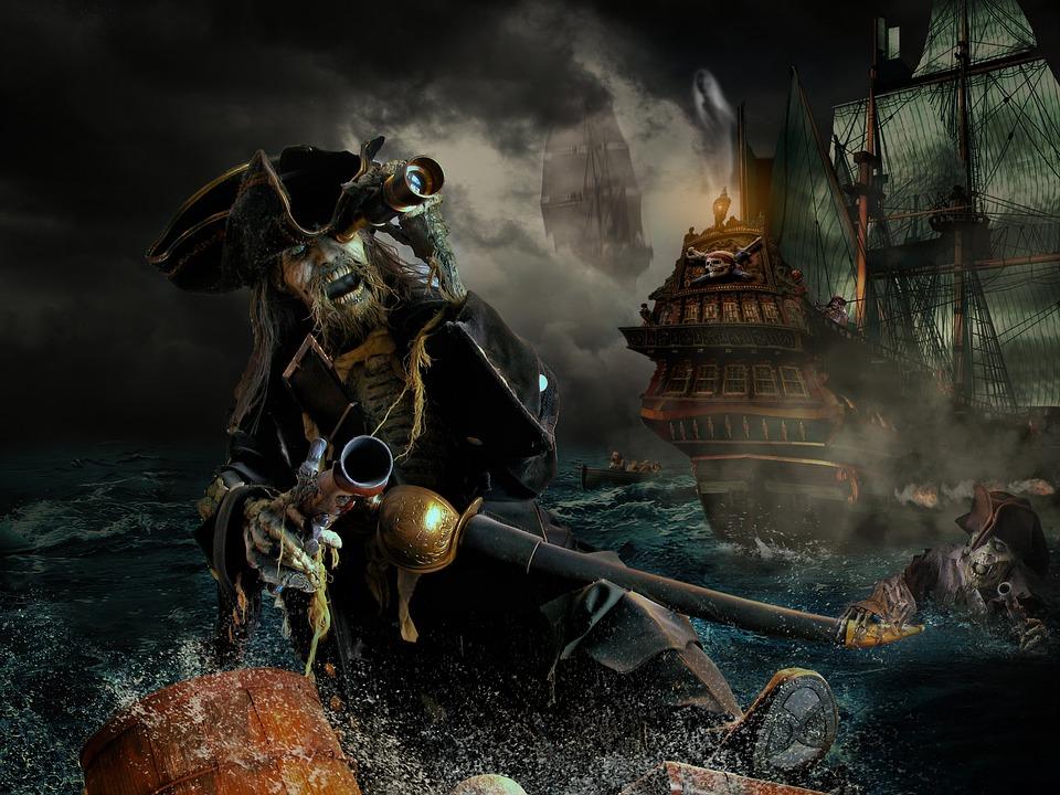 Pirate, Photoshop, Manipulatie, Fantasie