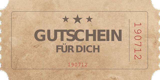 Gutschein Free
