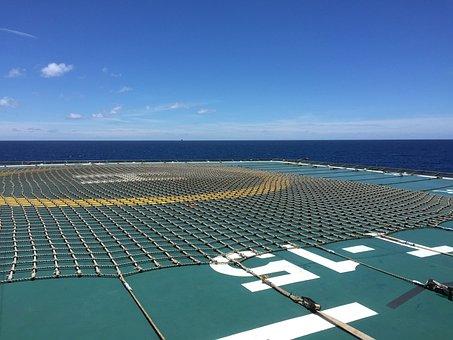 Offshore, Ocean, Sea, Platform, Gas, Rig