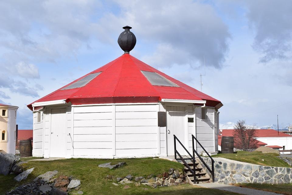 灯台 ウシュアイア 風邪 構造 建物 天井