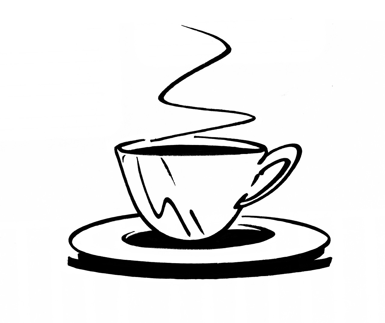 Coffee Cup Mocca Black And Free Image On Pixabay