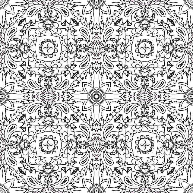 Mandala Pattern Line Art Black And 183 Free Image On Pixabay