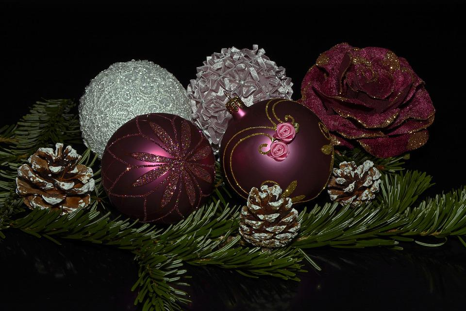 Weihnachtskugeln, Kugeln, Weihnachten, Advent