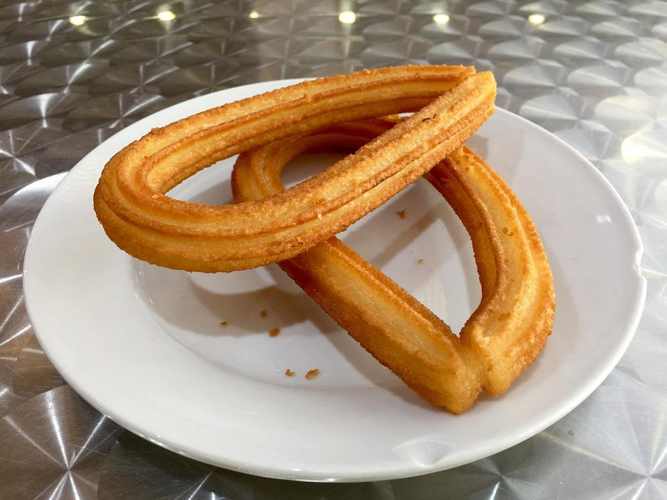 Churro, Churros, Spanish, Food, Spain, Dish, Plate